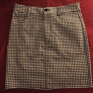 Forever 21 gingham skirt